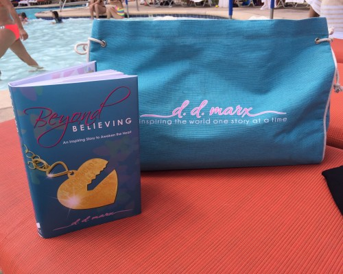 d.d. marx poolside signing books Las Vegas