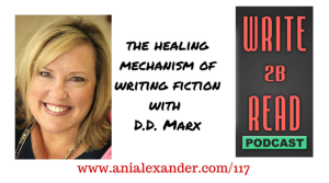 d.d. marx Writing Fiction Podcast Interview