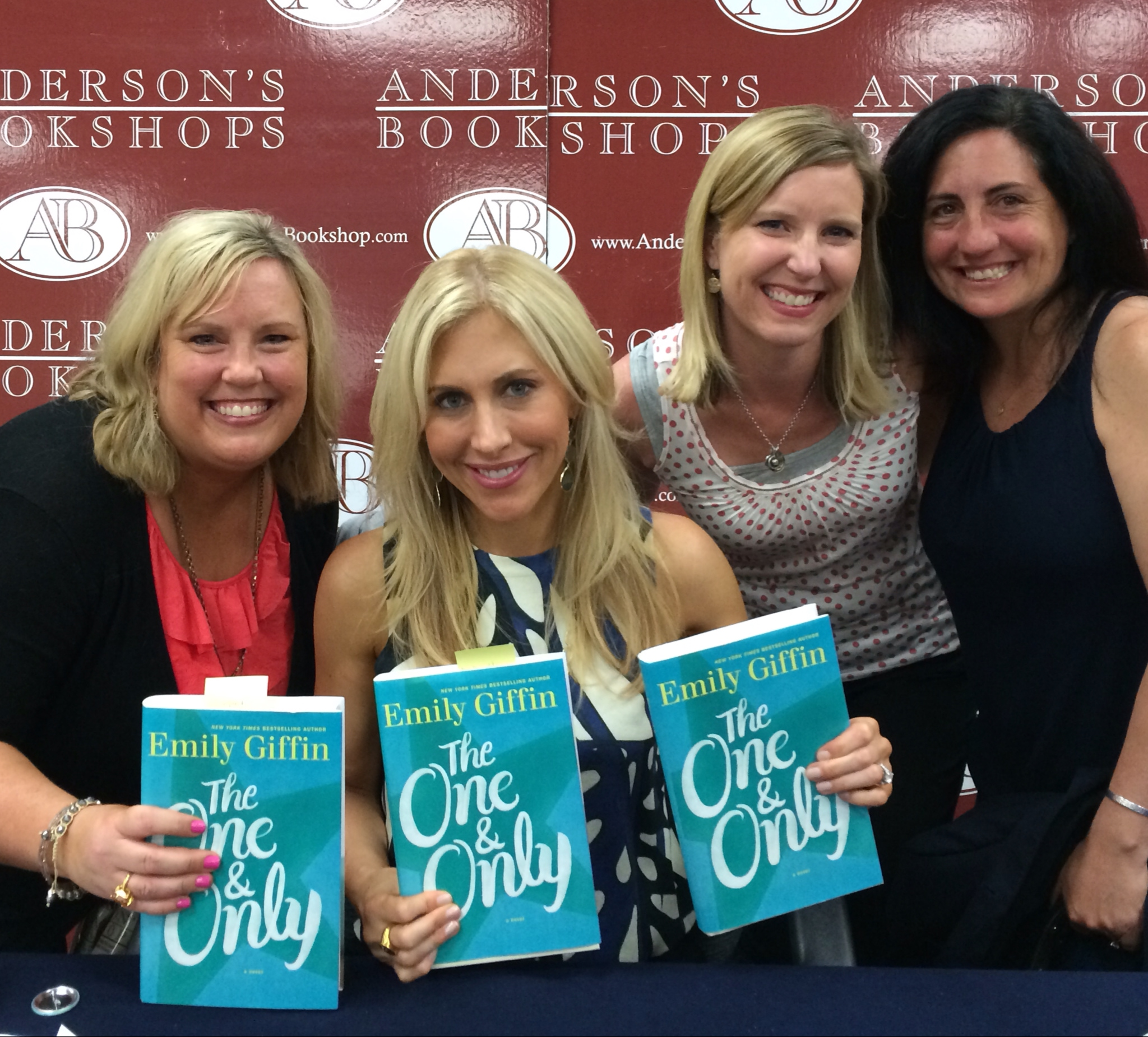 d.d. marx Emily Giffin and friends
