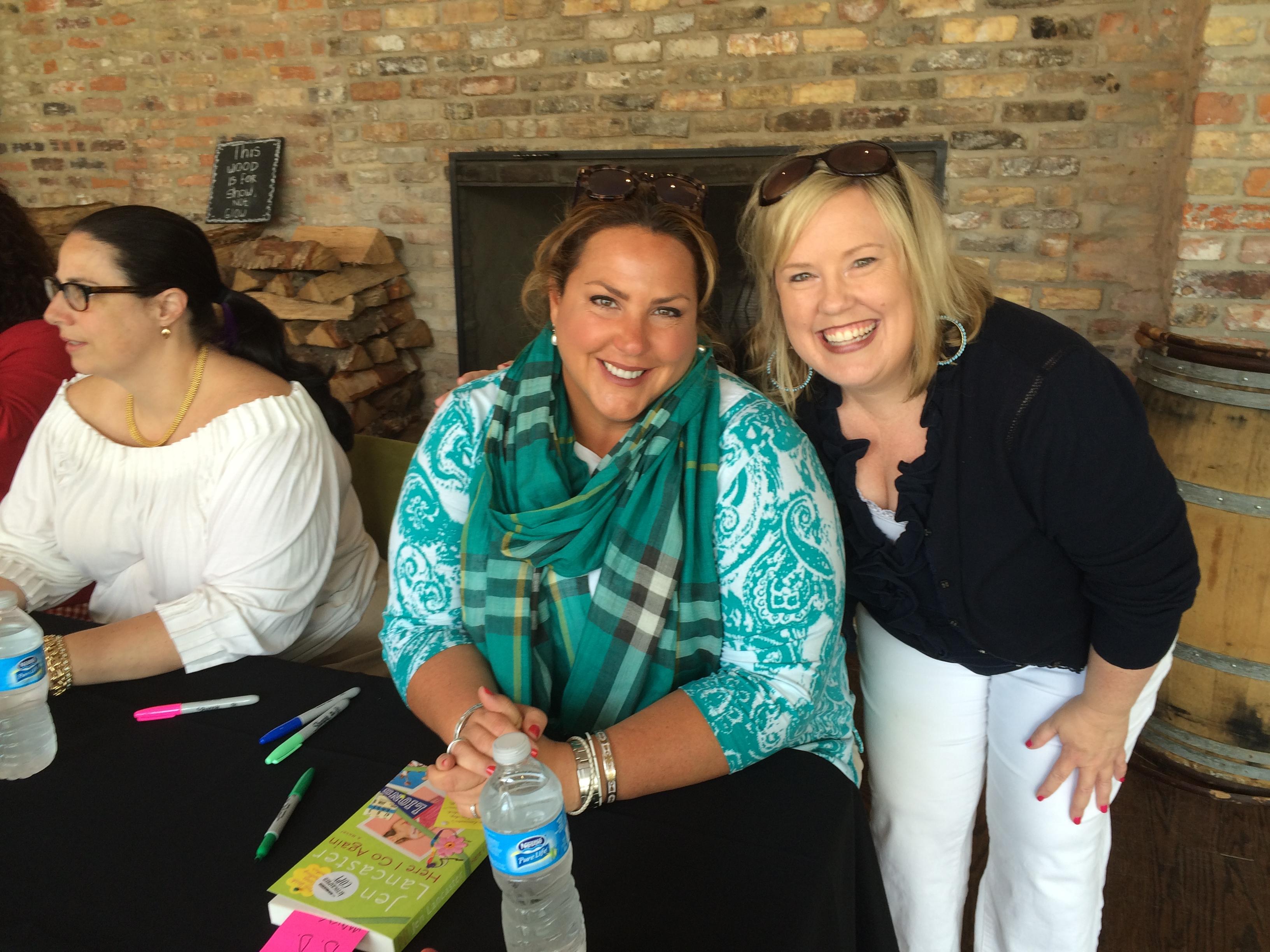 d.d. marx Jen Lancaster Book signing